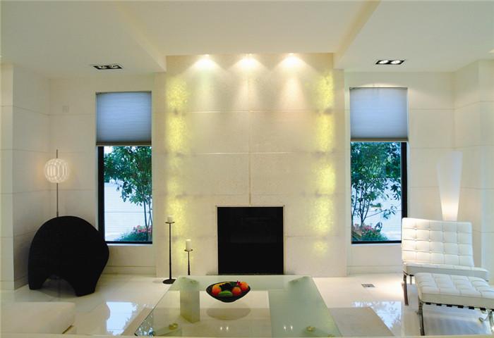 简约 别墅 客厅图片来自天津尚层装修韩政在白色系软装配饰的分享
