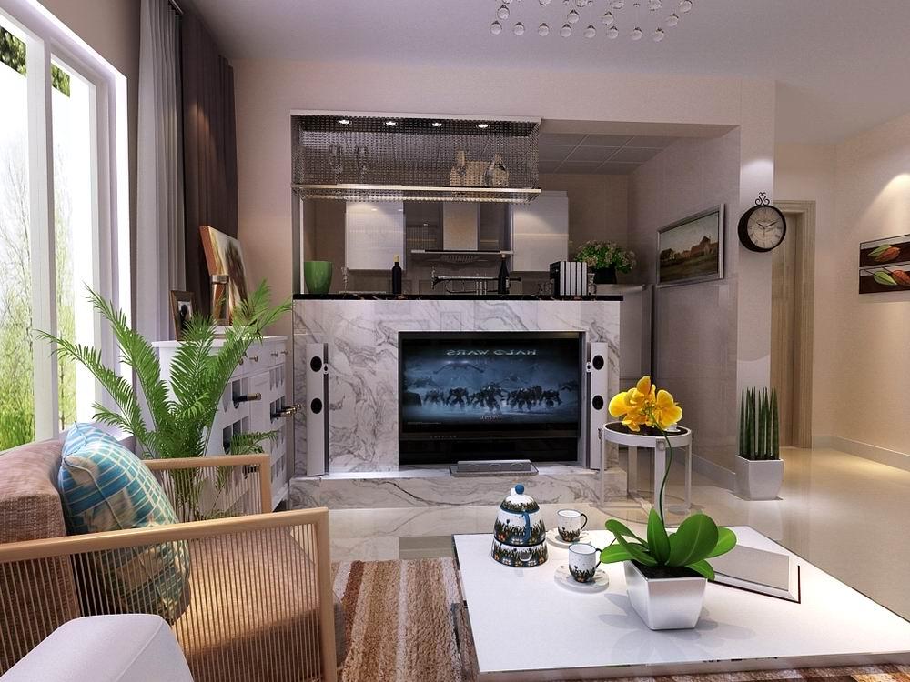 现代 简约 二居 白领 收纳 80后 小资 客厅图片来自阳光力天装饰在和苑-82.00㎡-现代风格的分享