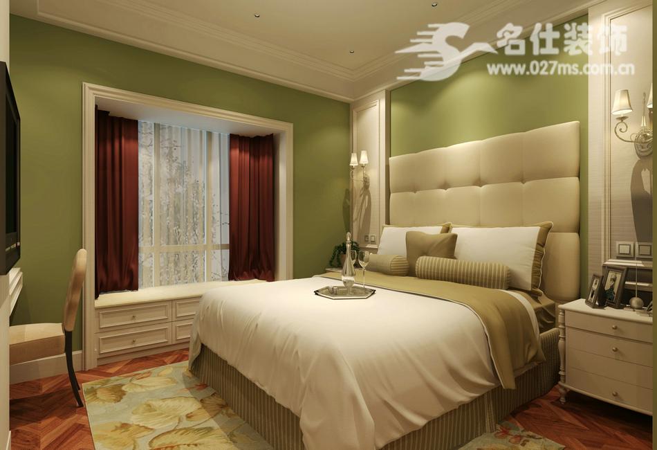 混搭 三居 白领 收纳 旧房改造 80后 小资 卧室图片来自名仕装饰-小飞在华星融城混搭风格名师设计的分享