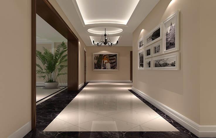 新中式 玄关图片来自高度国际宋书培在东亚首航国际四居室装饰效果图的分享