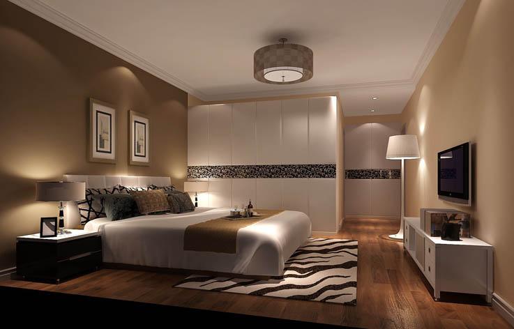 现代 卧室图片来自高度国际宋书培在北京方向 四居室装饰效果图的分享