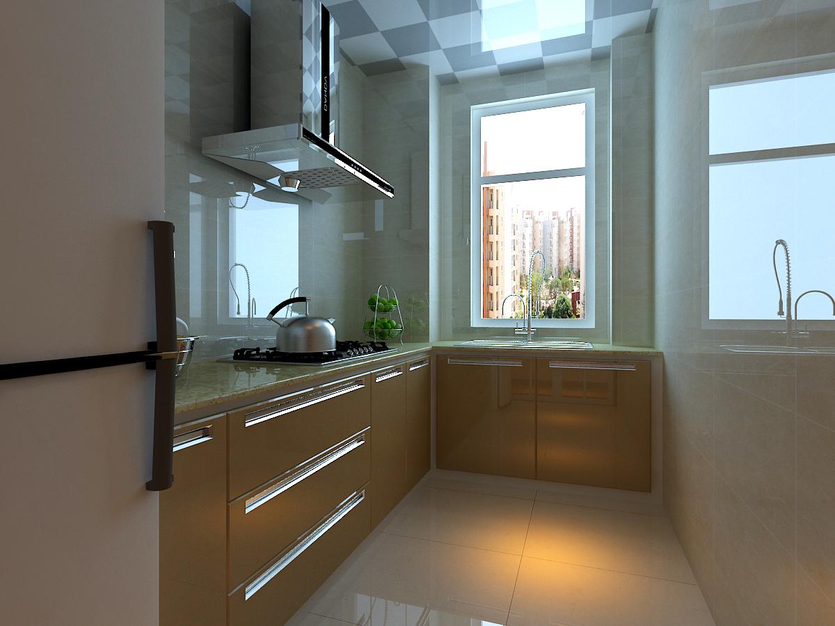 百家装饰 龙湖紫都城 环保装修 卫生间效果 厨房图片来自张竟月在龙湖紫都城88平现代风格的分享