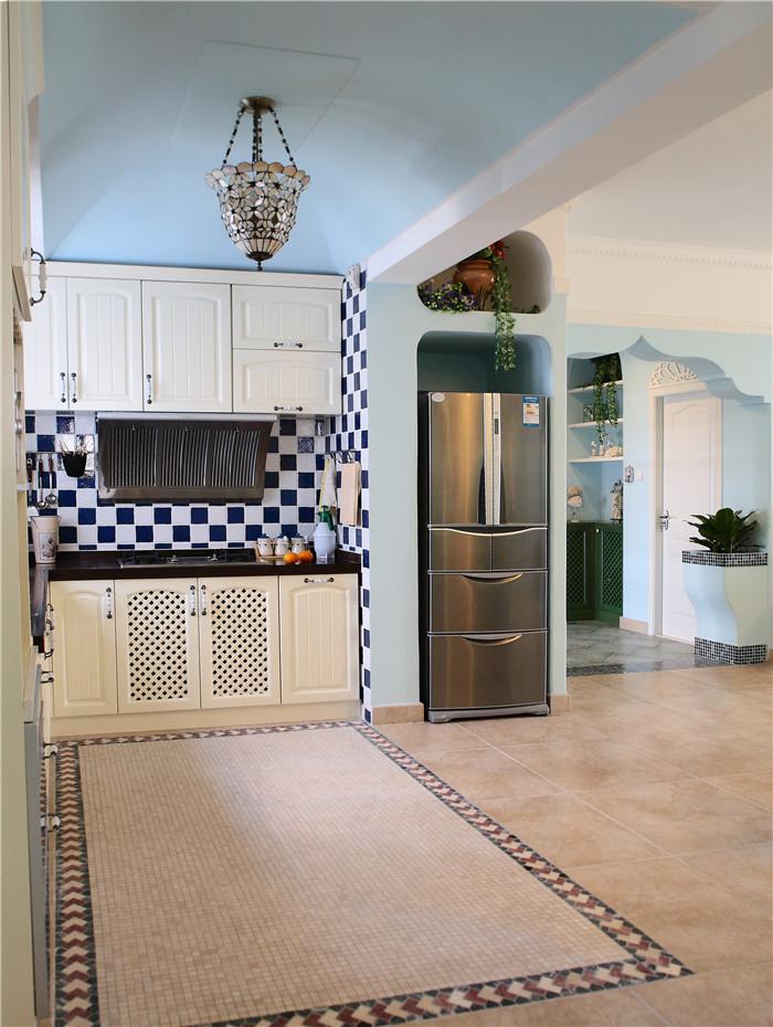 厨房图片来自高度国际装饰王伟在【浪漫的地中海】---新岸线的分享