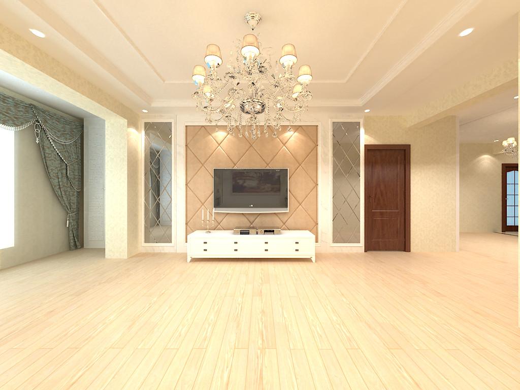 简欧风格 保利香槟 环保装修 免费方案 客厅图片来自张竟月在保利香槟国际简约欧式的分享
