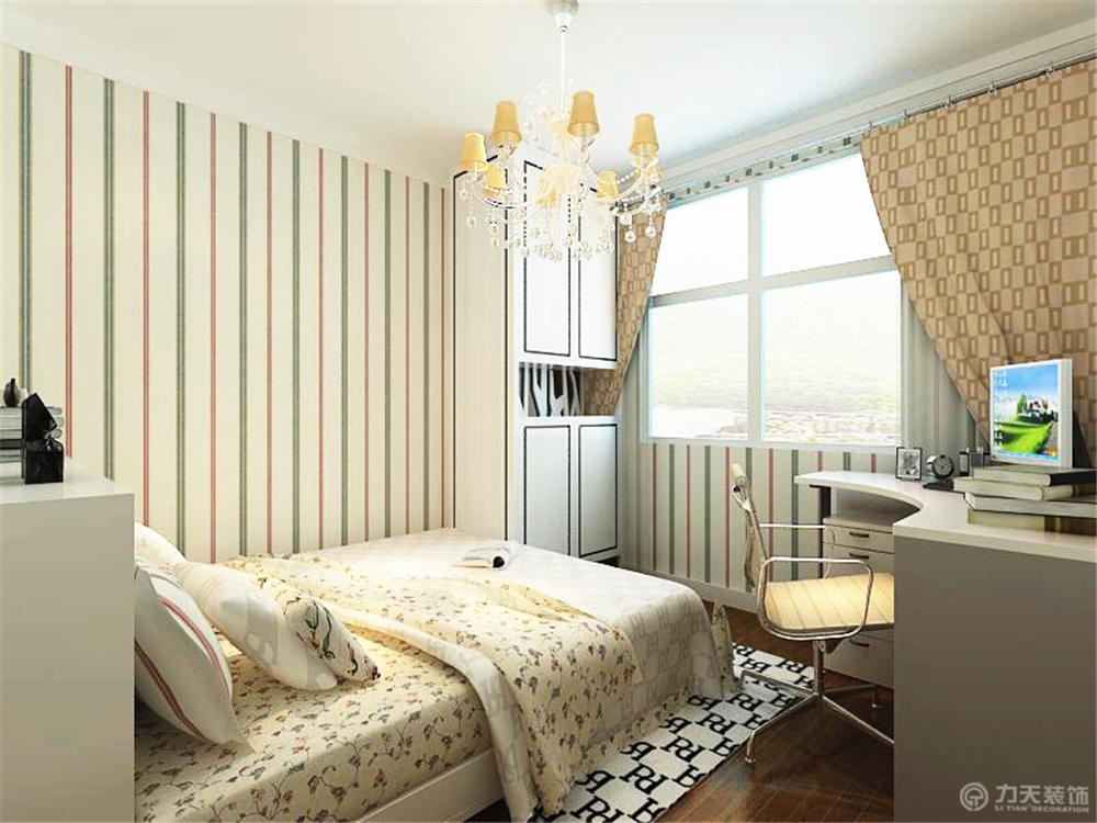 简约 三居 白领 收纳 80后 小资 卧室图片来自阳光力天装饰在智造创想城-96.30㎡-现代简约的分享