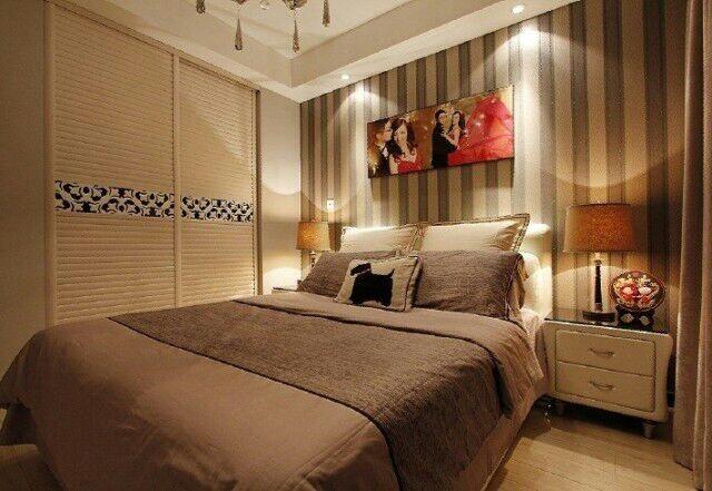 简约 二居 卧室图片来自天津尚层装修韩政在社会山2014的分享