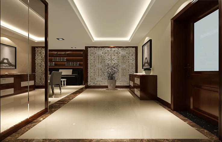 简约 玄关图片来自高度国际宋书培在北京城建·琨廷三居室装饰效果图的分享