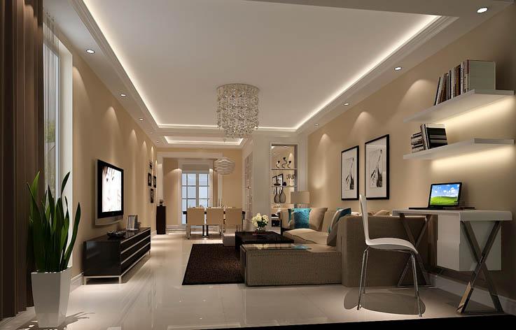 现代 客厅图片来自高度国际宋书培在卓达太阳城两居室装饰效果图的分享