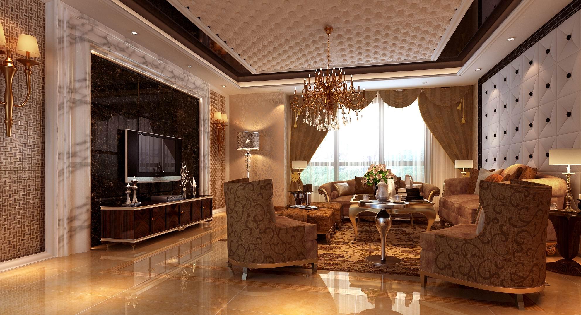 简约 欧式 三居 别墅 白领 收纳 80后 小资 客厅图片来自西安龙发装饰在欧式风格铸就不一样的幸福之家的分享
