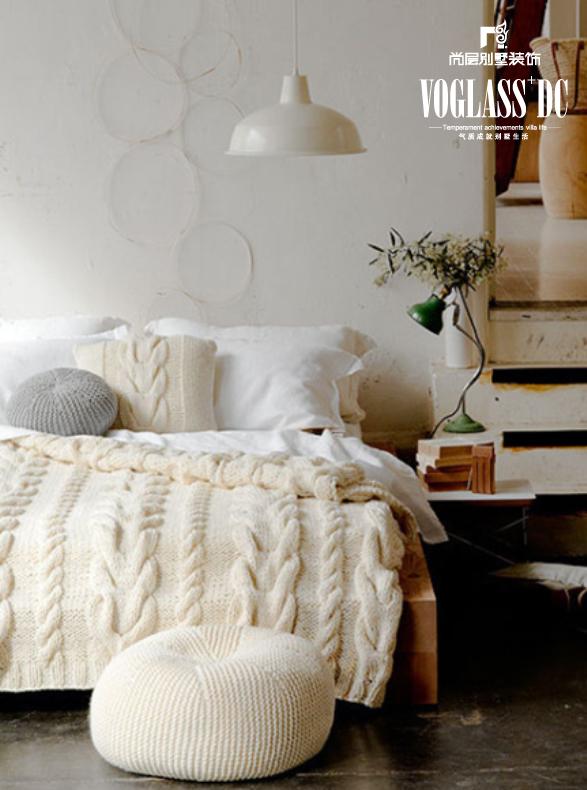 简约 别墅 卧室图片来自天津尚层装修韩政在首场福缇山的分享
