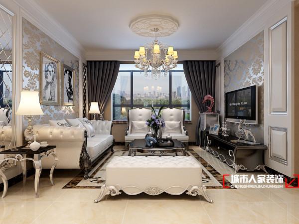 房子的设计采用典雅的欧式设计,欧式设计一直有着一种贵族般优雅高贵的气韵,在设计上设计师选用经典的颜色搭配黑白色,黑白的色系造就了整个空间的优雅与简约,符合家中不同年龄阶段成员的风格要求。