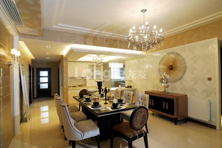 简约 欧式 三居 别墅 白领 收纳 80后 小资 餐厅图片来自西安龙发装饰在个性时尚之美,现代完美三居室的分享
