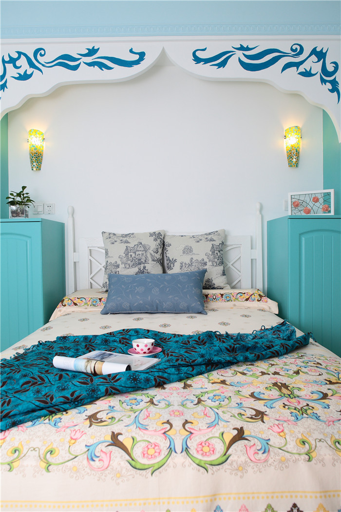 卧室图片来自高度国际装饰王伟在【浪漫的地中海】---新岸线的分享