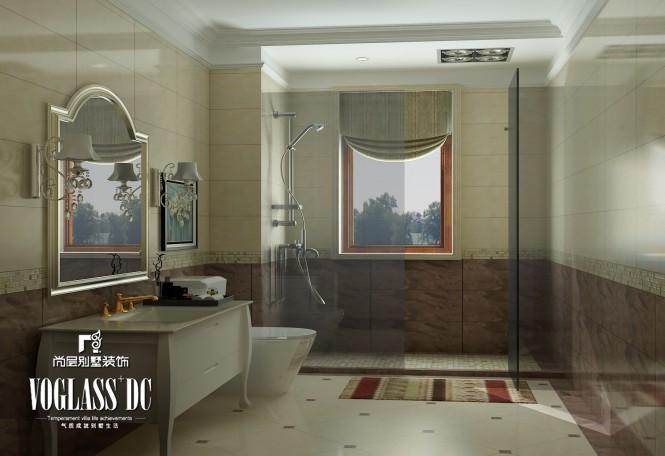 欧式 别墅 卫生间图片来自天津尚层装修韩政在760㎡独栋欧式古典风的分享