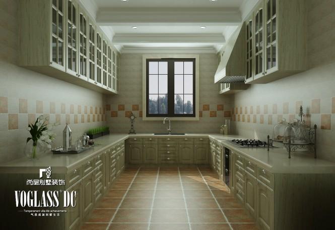 欧式 别墅 厨房图片来自天津尚层装修韩政在760㎡独栋欧式古典风的分享
