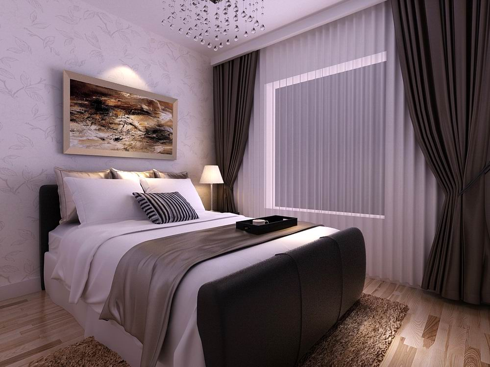现代 简约 二居 白领 收纳 80后 小资 卧室图片来自阳光力天装饰在和苑-82.00㎡-现代风格的分享