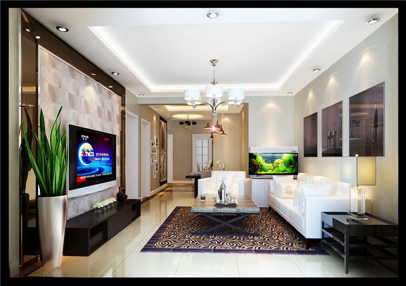 客厅图片来自石俊全在北京华贸城的分享