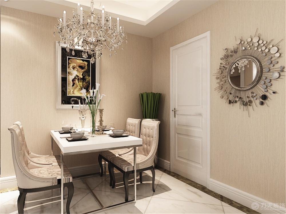 欧式 二居 白领 收纳 简约 80后 小资 餐厅图片来自阳光力天装饰在美震瑞景时代-79㎡-简欧风格的分享