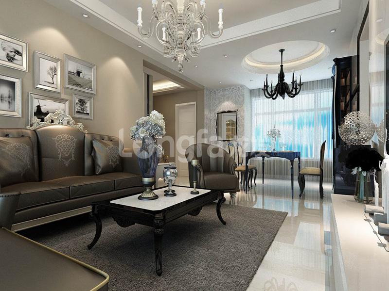 简约 欧式 混搭 三居 别墅 白领 收纳 80后 小资 客厅图片来自西安龙发装饰在曲江观山悦混搭风格的分享
