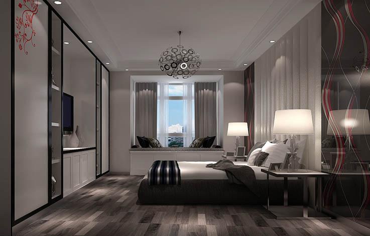 现代 卧室图片来自高度国际宋书培在和成璟园 两居室装饰效果图的分享