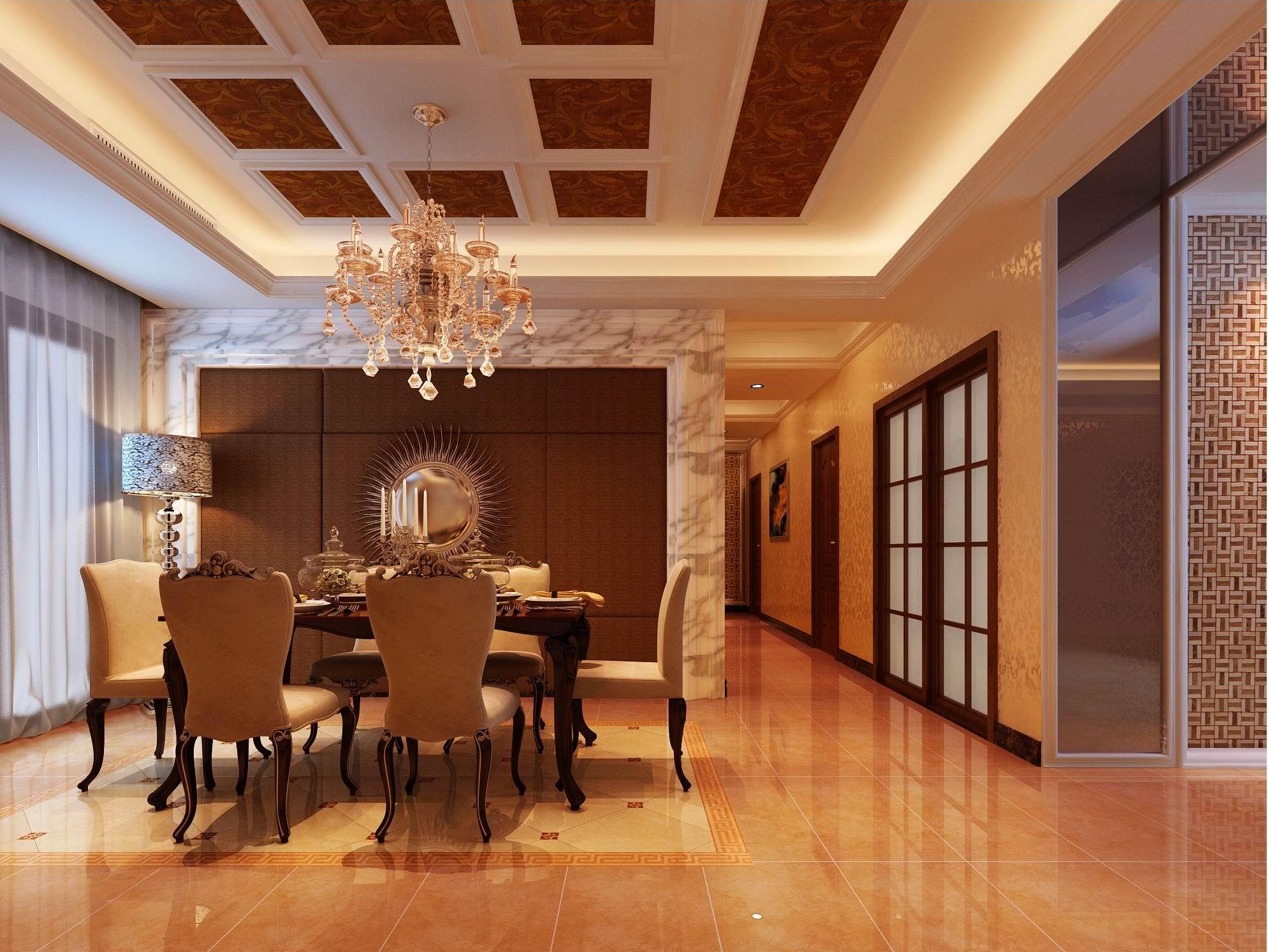 简约 欧式 三居 别墅 白领 收纳 80后 小资 餐厅图片来自西安龙发装饰在欧式风格铸就不一样的幸福之家的分享