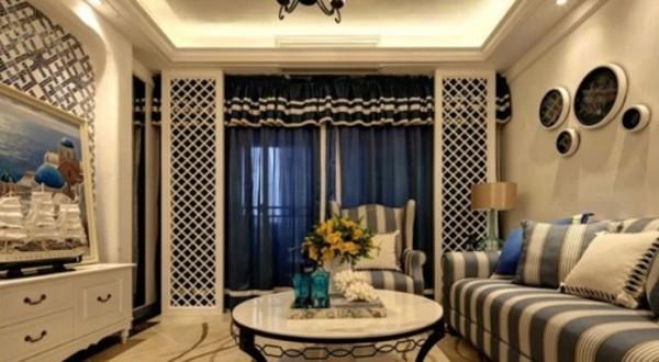 中海寰宇 百家装饰 地中海风格 半包装修 客厅图片来自张竟月在中海寰宇145平地中海风格的分享