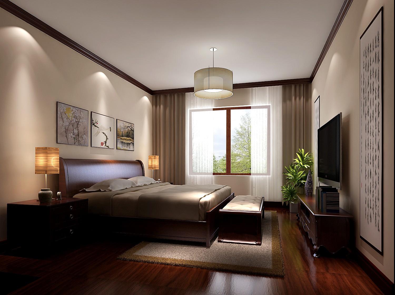 简约 欧式 别墅 白领 80后 高度国际 秦大涛 红杉溪谷 婚房 卧室图片来自北京高度国际装饰设计在300平浪漫红杉溪谷的分享