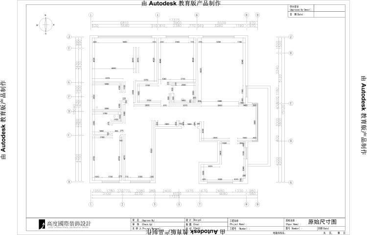 简约 欧式 田园 混搭 三居 白领 新中式 装修 房子 户型图图片来自高度国际装饰王伟在【西山壹号院】三室二厅新中式的分享