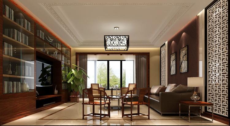 简约 欧式 田园 混搭 三居 白领 新中式 装修 房子 客厅图片来自高度国际装饰王伟在【西山壹号院】三室二厅新中式的分享
