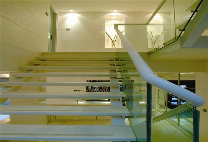 简约 别墅 楼梯图片来自天津尚层装修韩政在白色系软装配饰的分享