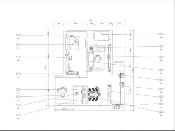 本户型为颐贤里2室2厅1卫1厨 80.00㎡.本方案主要以现代简约风格为设计手法