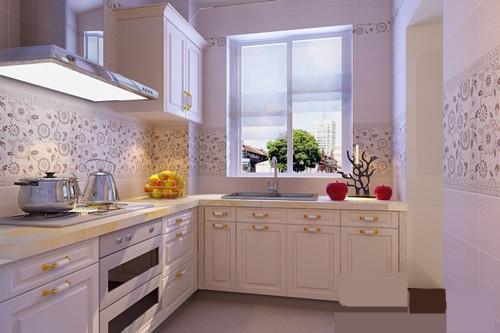欧式 混搭 白领 收纳 厨房图片来自合肥实创装饰李东风在小户型也可以装修欧式的分享