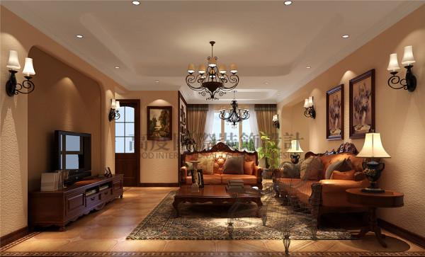 为了能够让客户在繁忙的工作和学习之余回到家能有一个良好互动场所,设计师巧妙的设计手法将原本的比较零碎的客厅、餐厅及休闲厅融合成一个整体,让客户在家里休息的时候能与家人有个良好的互动