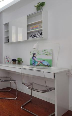 万境水岸 三居室 温馨 混搭风格 小清新 书房图片来自湖南名匠装饰在五矿万境水岸混搭风格的分享