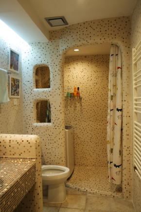温馨 舒适 浪漫 地中海 卫生间图片来自成都生活家装饰在80㎡打造浪漫地中海风格的分享