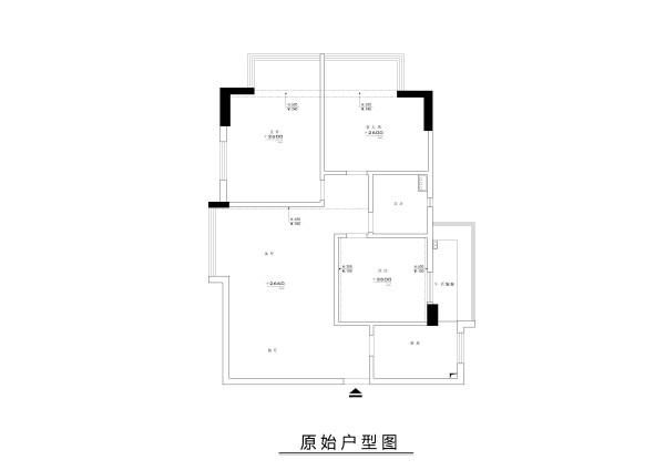 业主是一对刚结婚的年轻夫妇。设计需求:原有的客厅15平米空间狭小,需要在保留原有的功能性外设计的开阔些,并在客厅增加独立餐厅区域,并为儿童设计一个学习和玩耍的空间。