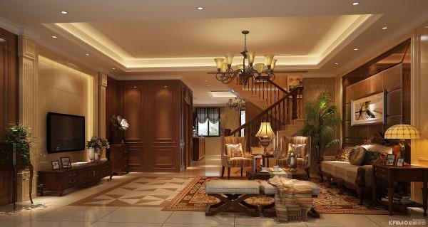 客厅的设计很有档次