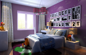 简约 欧式 140平 温馨 舒适 儿童房图片来自孙进进在140平温馨舒适的居家环境的分享