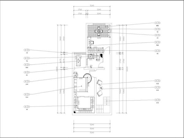本户型为红星国际跃层3室1厅2卫1厨92㎡.本方案主要以港式风格为设计手法
