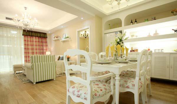 餐厅 餐厅图片来自家装E站重庆体验店在韩式清新田园风,温馨爆棚!的分享
