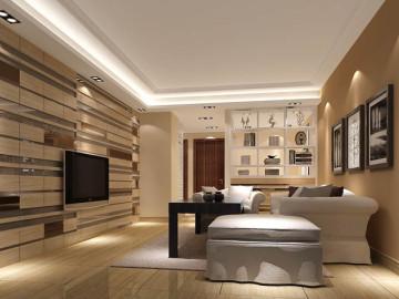 紫玉公馆 两居室装饰效果图