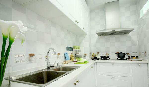 厨房图片来自家装E站重庆体验店在韩式清新田园风,温馨爆棚!的分享