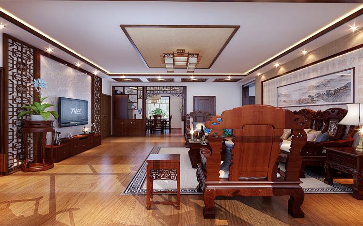 中式 大宅 豪华 客厅图片来自用户5561912747在默认专辑的分享