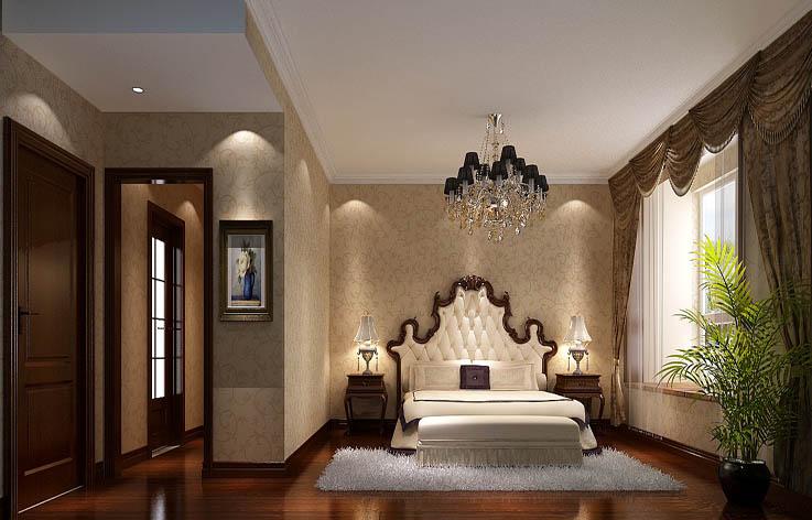 欧式 卧室图片来自高度国际宋书培在阿那亚三居室装饰效果图的分享