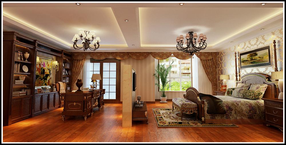 天山新公爵 欧式 客厅图片来自石家庄业之峰装饰虎子在天山新公爵220平米欧式风格案例的分享