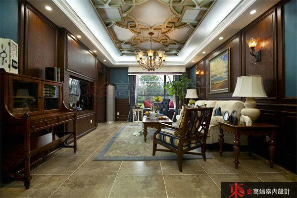 客厅图片来自東合設計在英伦湾样板间——森林童话的分享