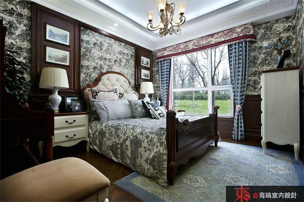 卧室图片来自東合設計在英伦湾样板间——森林童话的分享