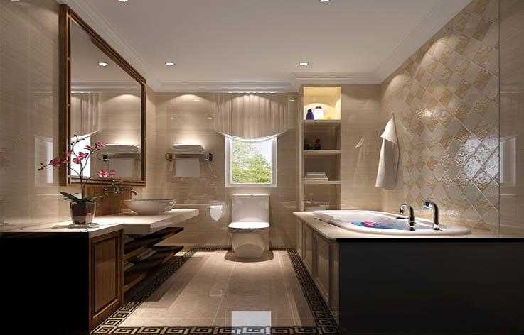 奢华 卫生间图片来自高度国际宋书培在爱晚大爱城三居室装饰效果图的分享