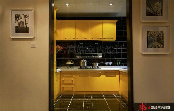 厨房图片来自東合設計在英伦湾样板间——爱马仕的分享