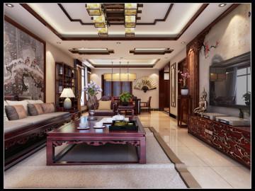 天山新公爵中式装修设计